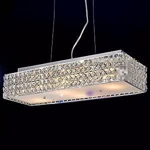 Best Chandelier Led Lamps Chandeliers Rectangular Crystal ...
