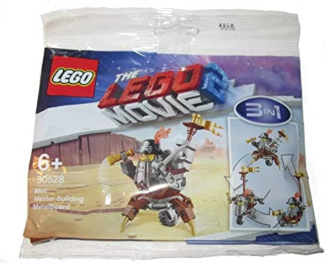 LEGO 30528 The LEGO Movie 2 Polybag MINI MASTER-BUILDING METALBEARD Brand New