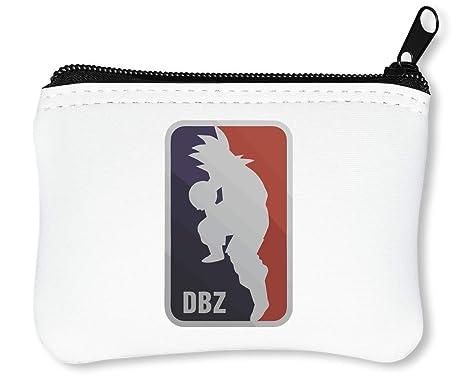DBZ Logo Billetera con Cremallera Monedero Caratera: Amazon ...