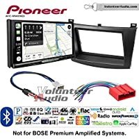 Volunteer Audio Pioneer AVIC-W8400NEX Double Din Radio Install Kit with Navigation, Apple CarPlay and Android Auto Fits 2010-2013 Mazda 3