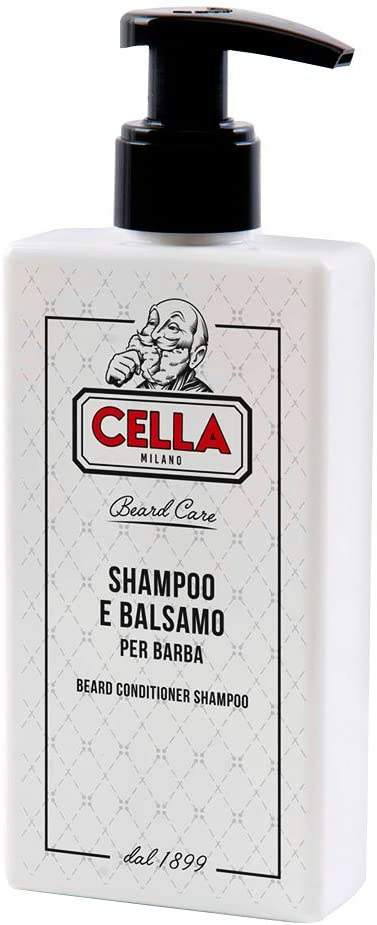 Cella Shampoo e Balsamo per Barba - 200 ml