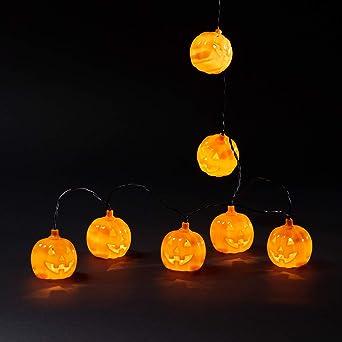 Halloween Beleuchtung | Lights4fun 15er Led Kurbis Lichterkette Halloween Deko 31v Amazon