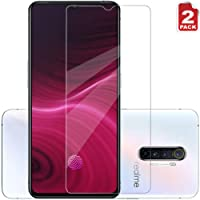 XINKOE [2-Pack] Screen Protector for Realme X2 Pro, Ultra slim HD 2.5D Pro-Fit Premium Tempered Glass Screen Protector