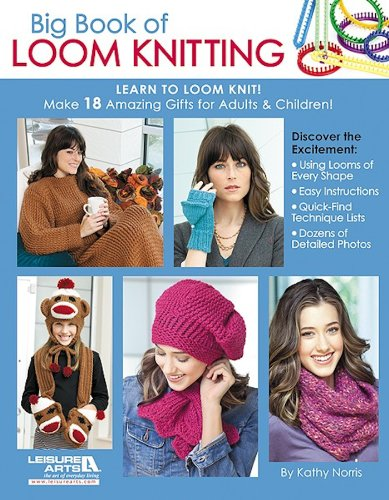 Big Book Loom Knitting Learn ebook product image