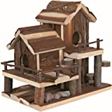 Wooden Xxl Rodent Villa Hamster Cage Hut Mouse Gerbil