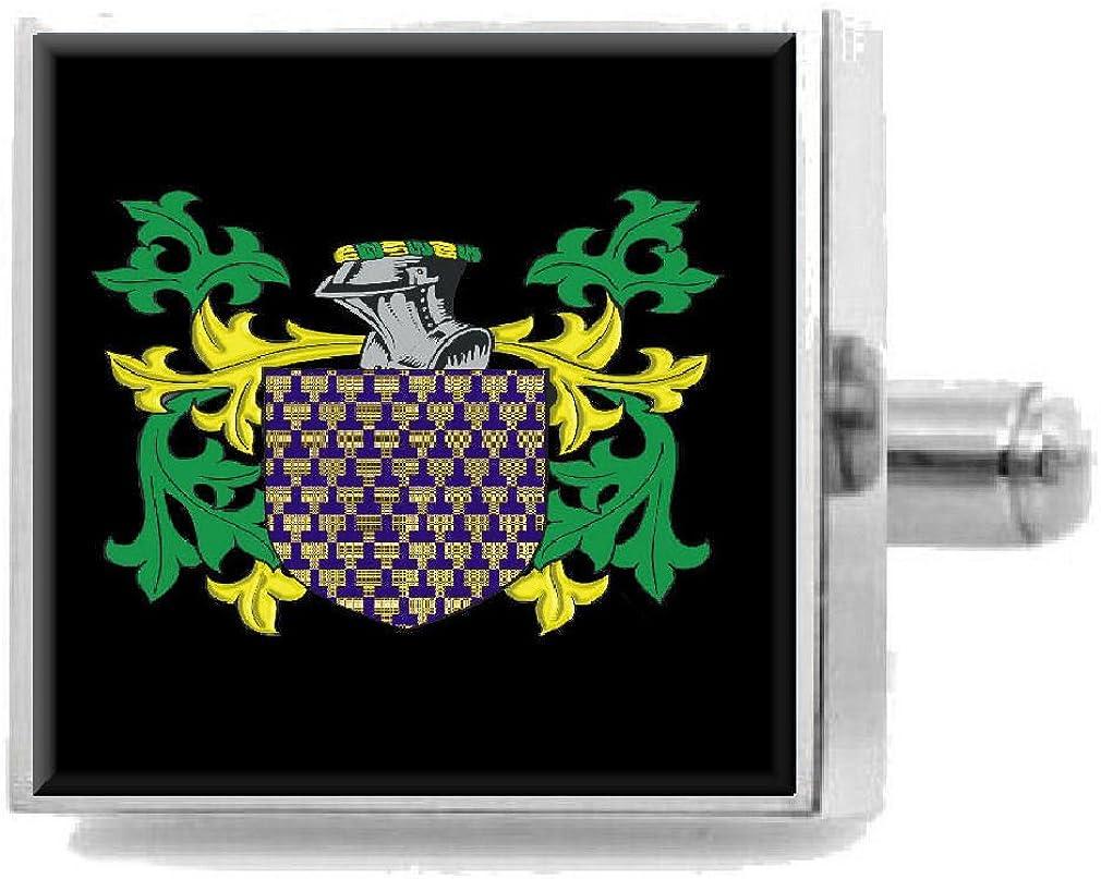 Gascoigne Handmade Mary Queen of Scots Heraldic Shield Cufflinks Men/'s
