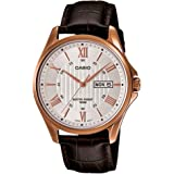 Casio Enticer Analog White Dial Men's Watch - MTP-1384L-7AVDF (A882)