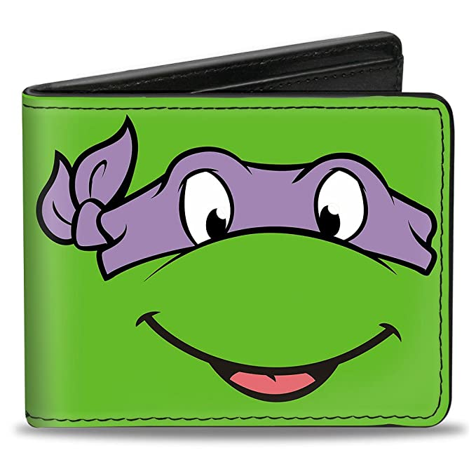 Amazon.com: Buckle-Down Bifold Wallet Ninja Turtles: Clothing