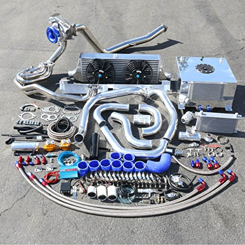 For Subaru WRX High Performance 22pcs TD05 20G Turbo Upgrade Installation Kit