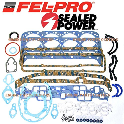 Fel Pro Engine Overhaul Gasket Set 1981-1985 Chevy sbc 305 5.0L (5.0L 305 (Complete Engine Overhaul Gasket)
