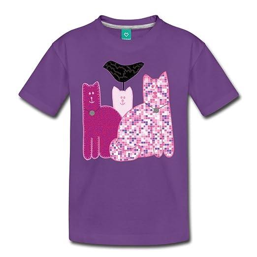 d9e4a3e75668 Spreadshirt Miranda Sings Merch Favorite Cats Kids  Premium T-Shirt