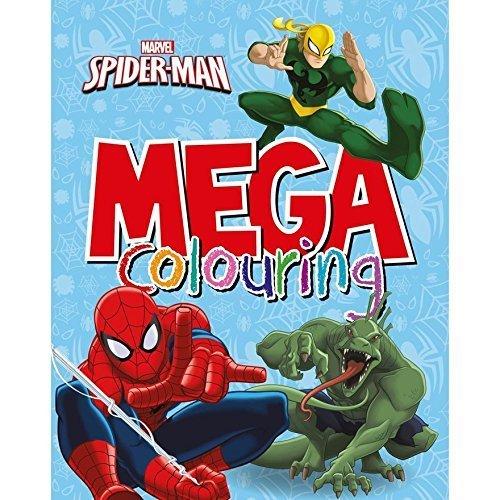 Marvel Spider-Man Mega Colouring Book