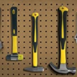 Benchmark - 3 Piece Hammer Set; 16 OZ. Claw Hammer, Tack Hammer; Rubber Mallet (Double SIded); Shock Absorbing Rubber Grips, Durable Fiberglass Handles And Polished Steel Heads
