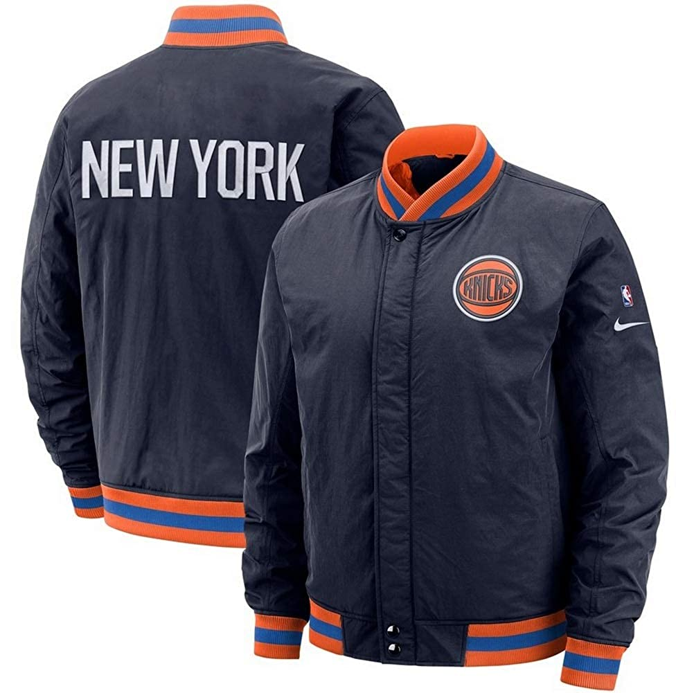 huge selection of a466f 947c1 Amazon.com : Nike Men's NBA New York Knicks City Edition ...