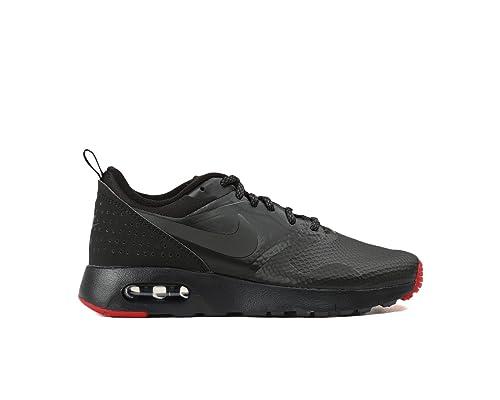 Nike Air MAX Tavas PRM (GS) Zapatillas juanetes 2016 Negro/Gris/Rojo, Color Negro, Talla 38.5 EU: Amazon.es: Zapatos y complementos