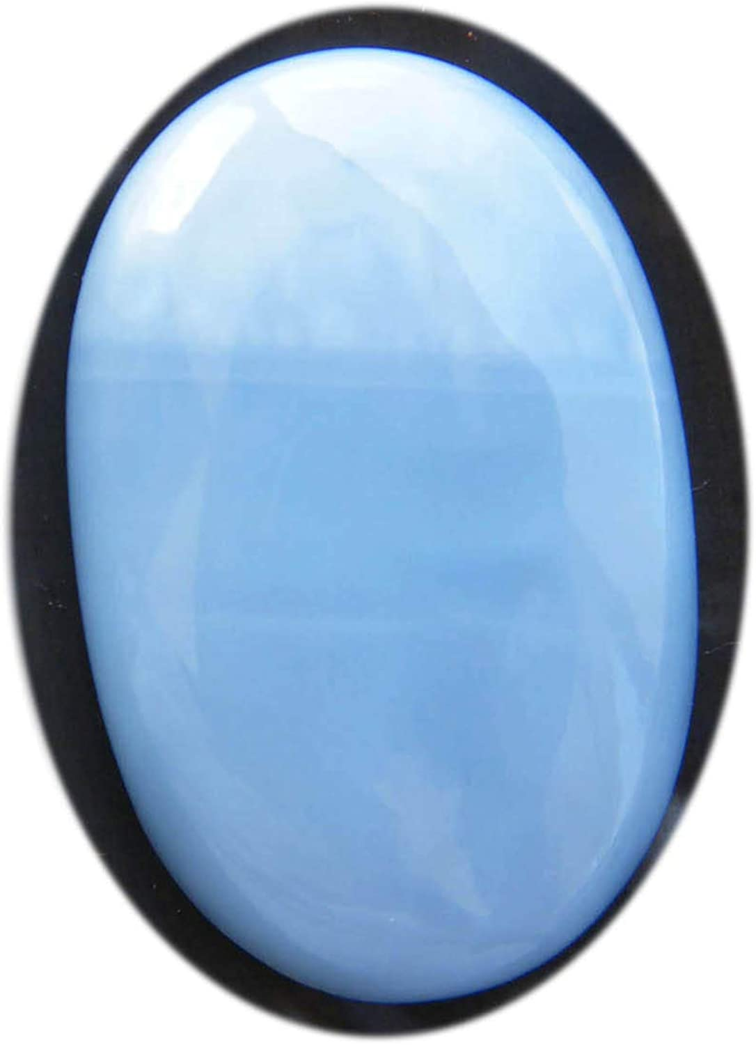 38X30X7 mm SZ-2746 Supreme Top Grade Quality 100/% Natural Owyhee Blue Opal Pear Shape Cabochon Loose Gemstone For Making Jewelry 56 Ct