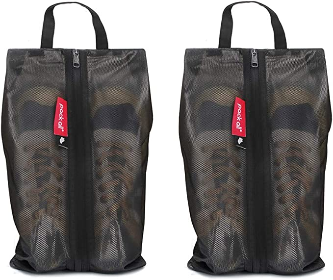 Shoes Bags Polyester Travel Shoulders Backpack Storage Bags Organizers Blue L