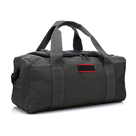 48ddbc8039bd Image Unavailable. Image not available for. Color  Sports Gym Bags Men  Fitness Travel Handbag One Shoulder Backpack Canvas Handheld Outdoor ...