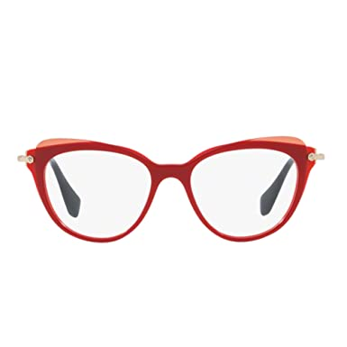 8b84c7a875c5 Image Unavailable. Image not available for. Color: Miu Miu MU01QV Eyeglasses  ...
