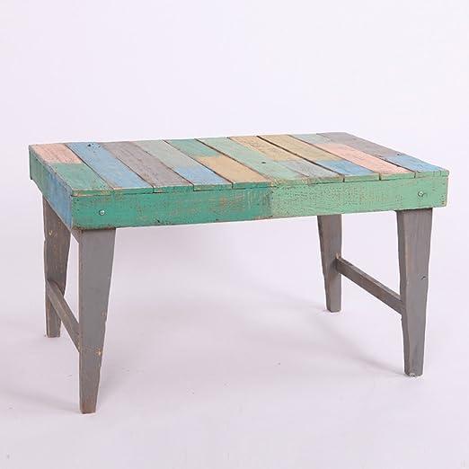 Yang baby Mesa de madera de color sólido multiusos del jardín de madera para hacer el jardín viejo Balcón Estantes del jardín de la maceta: Amazon.es: Hogar