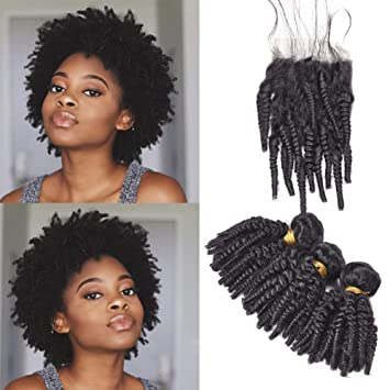 Amazon Com Afro Kinky Curly Weave Short Hairstyles