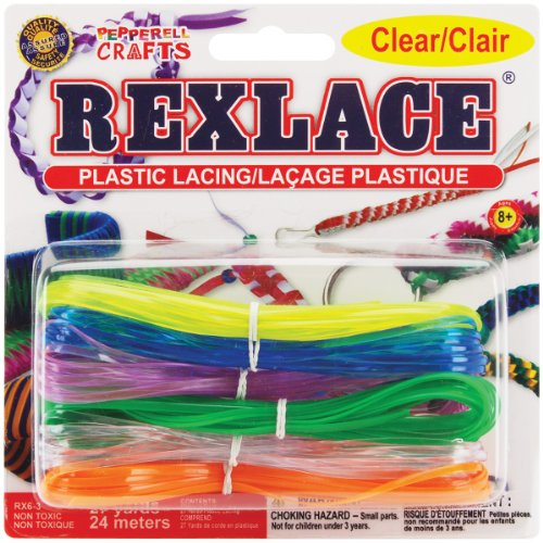 Gold Sparkle Pepperell Rexlace Plastic Lace 0.0938-Inch