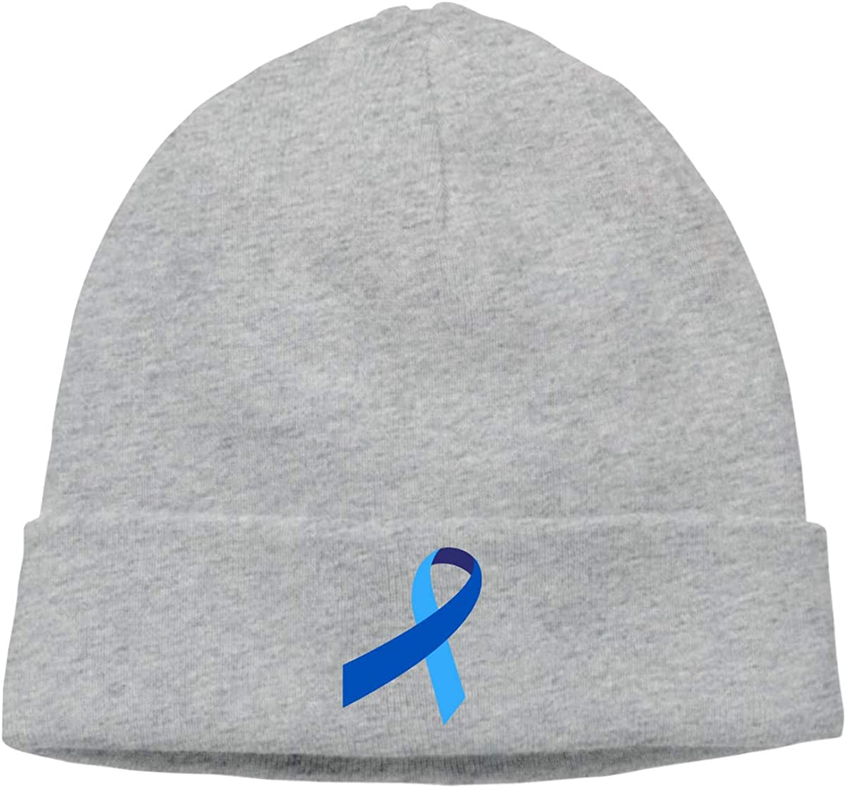 BBlooobow Mens/&Womens Prostate Cancer Soft Knit Caps