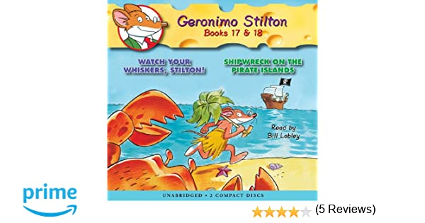 Geronimo stilton 17 18 audio library edition geronimo stilton geronimo stilton 17 18 audio library edition geronimo stilton 9780545138635 amazon books fandeluxe Image collections