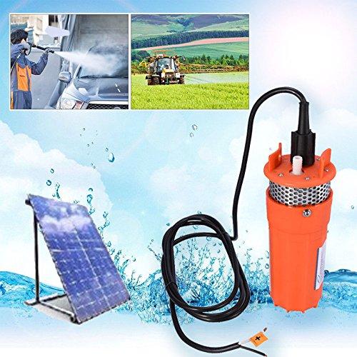 12V Solarbetrieben Tauchpumpe Brunnenpumpe Wasserpumpe Solarpumpe Yosoo