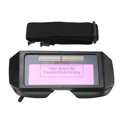 Gafas para soldador - Soldadura solar con oscurecimiento automático Gafas TIG MIG MMA, Gafas para