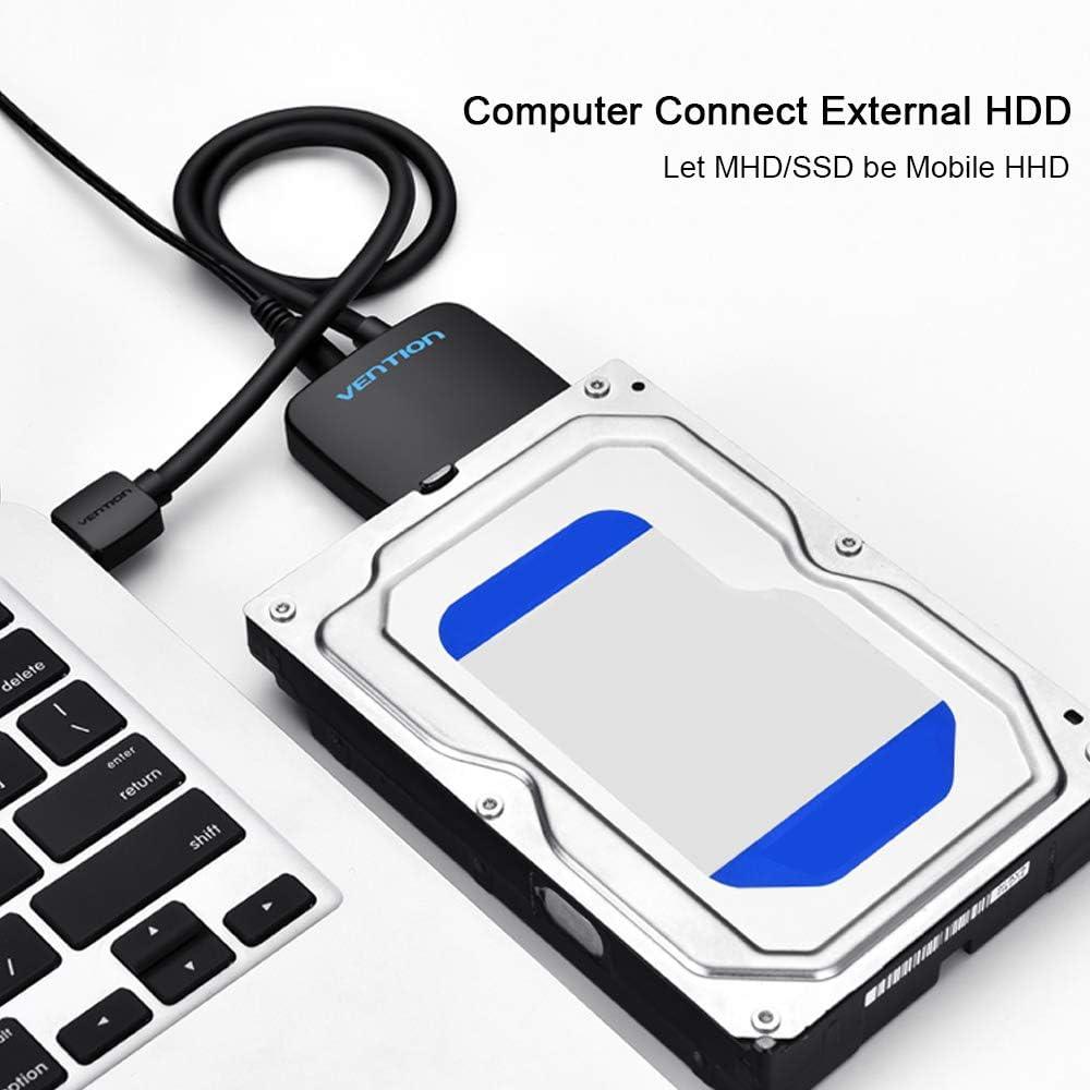 VENTION USB3.0 al adaptador de disco duro SATA Cable Convertidor ...