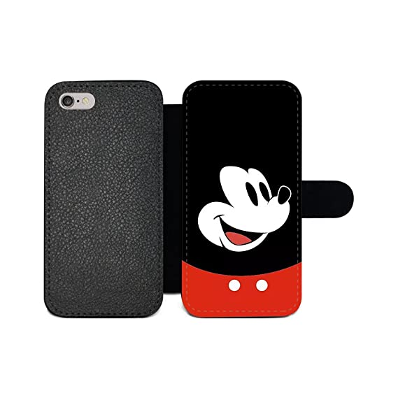 finest selection 08aaf 893aa GSPSTORE iPhone 6 Plus/6s Plus Wallet case,Disney Mickey Mouse and Minnie  Cute Cartoon Pattern Flip Pu Wallet Case with Card Pockets for iPhone 6 ...