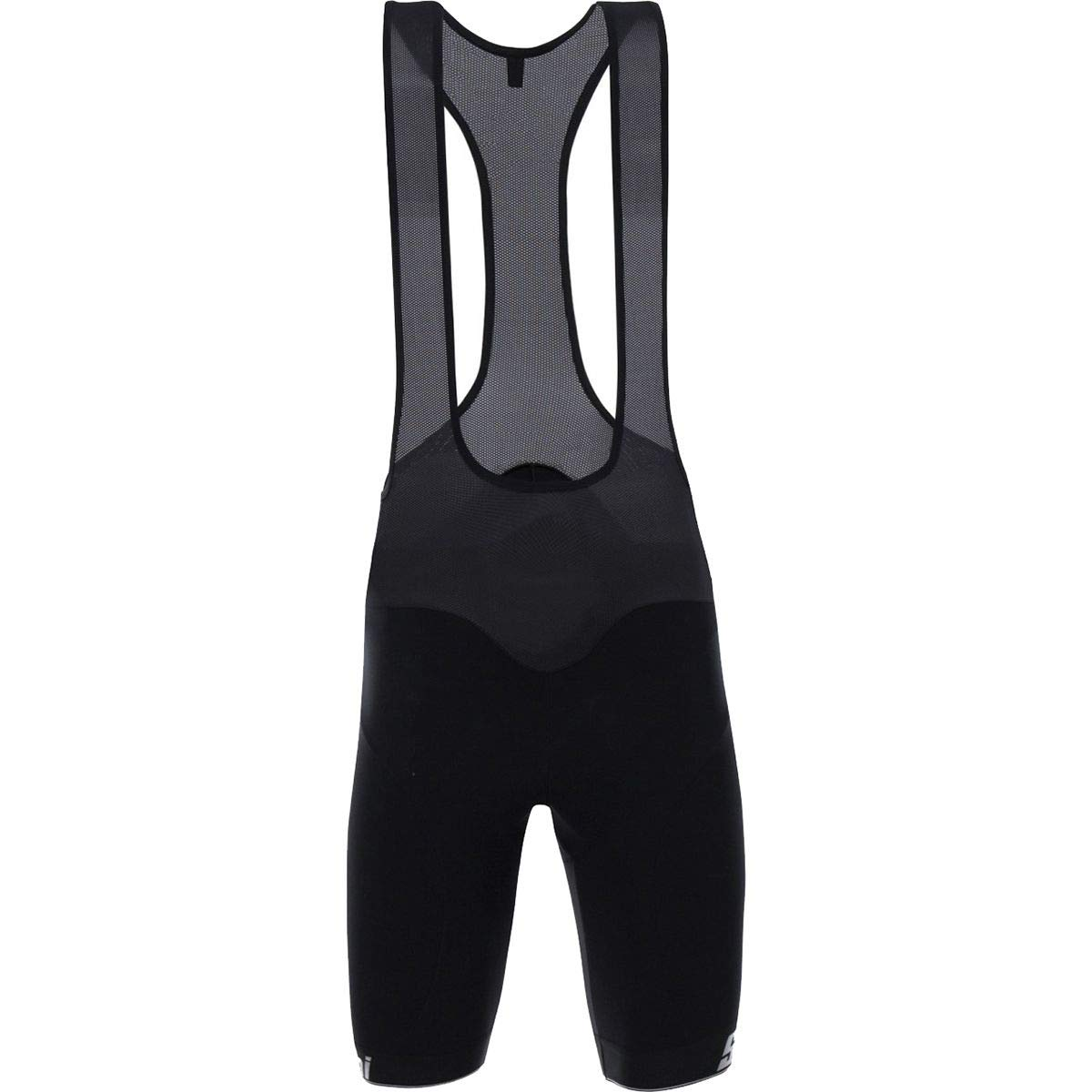 Santiniブラック2017 Eureka Thermal h20 Cycling Bib Shorts Large  B0767N4D95