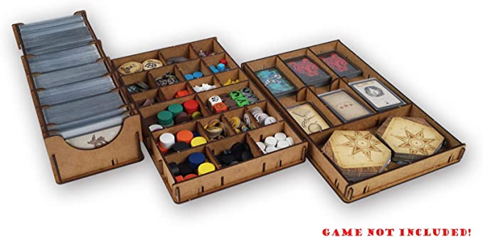 docsmagic.de Organizer Insert for Robinson Crusoe 2nd Edition Box - Encarte: Amazon.es: Juguetes y juegos