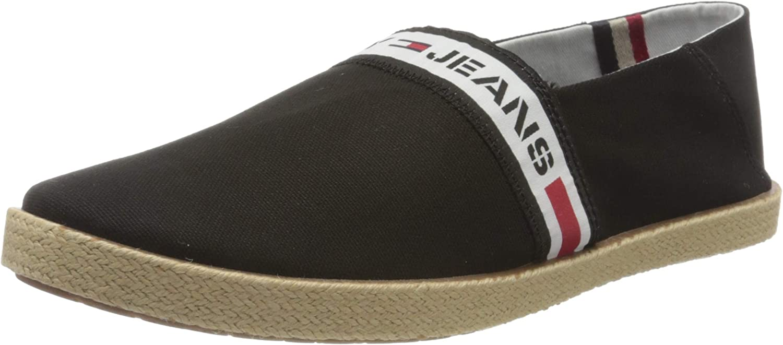 Tommy Hilfiger Tommy Jeans Tape Summer Shoe, Mocasines para Hombre