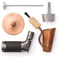 Bripe Coffee Brew Pipe Kit, Portable Espresso or Tea Maker for Traveling, Torch Lighter Included
