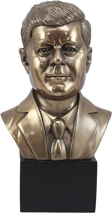 Modern Art Detailed Limited Edition Original President Kennedy Bronze Sculpture