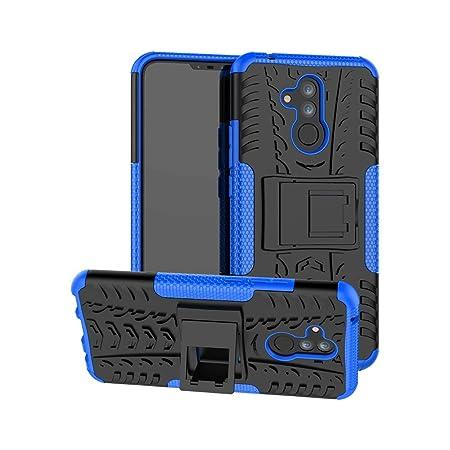 YFXP Huawei Mate 20 Lite/Maimang 7 Hülle,Huawei Mate 20 Lite/Maimang 7 Tasche Robuste Starke Markante Stoßfeste Panzer-Hülle