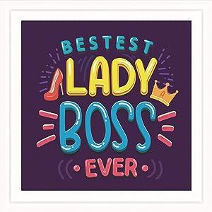Best Boss Gifts For Women   Gifts For Manager  Boss Appreciation Gifts   Leadership Gifts For Women  Boss Lady Office Decor   Girl Power Decor   Gift for Supervisor