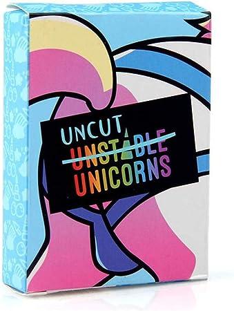 El super juego uncut unicorns Expansion Pack Unstable Unicorns Paquete de expansión Juegos de estrategia para adultos y adolescentes Juego de cartas y juegos de mesa Fiesta Gadgets Novedad Juguetes: Amazon.es: Hogar