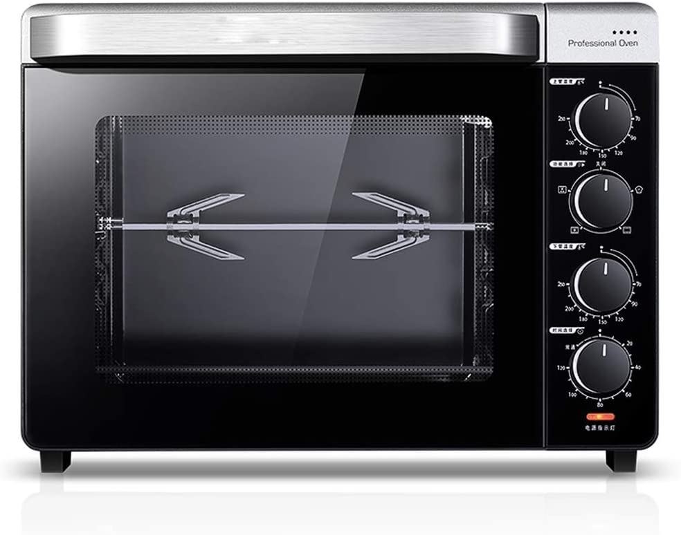 SCKMBJ Smart Steam Oven | Countertop WiFi Oven | 5 Mode Programmable Oven | Toast, Steam, Bake, Broil and Reheat | Black & Stainless Steel Convection Oven