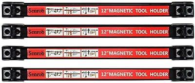 Senrob Metal Magnet Storage Tool Organizer Set with Mounting Brackets&Screws