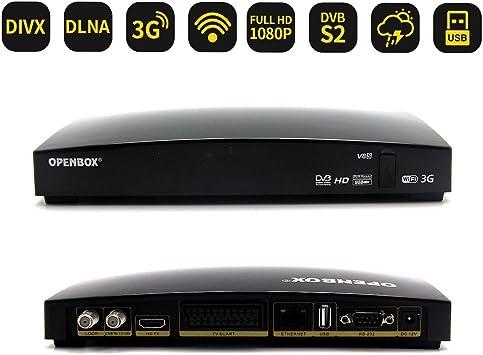 OPENBOX V8S Récepteur Satellite Numérique HDTV FTA DVB-S2 ...