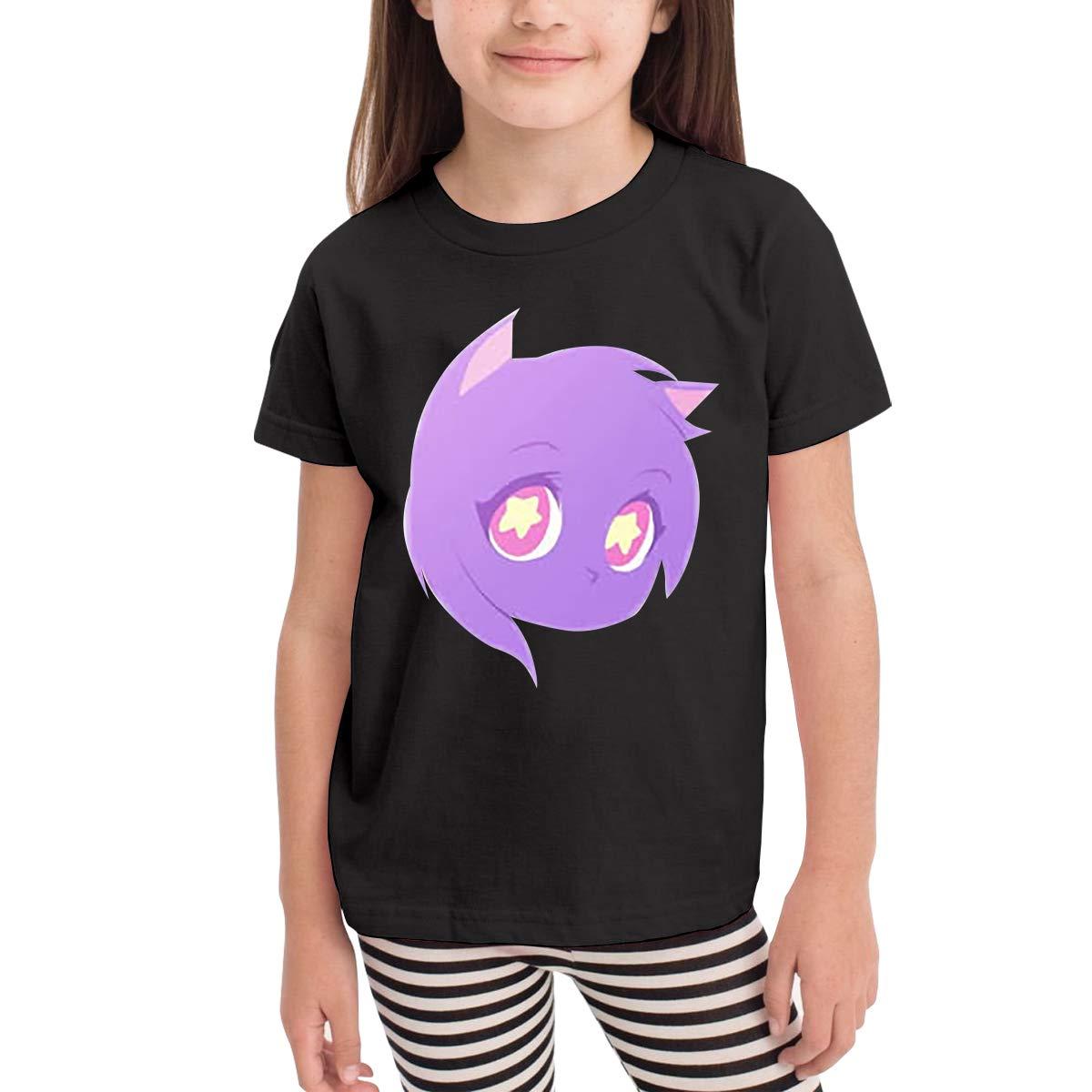 Aphmau girl/'s Crew Neck Tee shirt