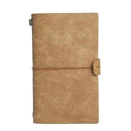 LIUCHEN@ Cuaderno1 unid Cubierta de cuero Vintage Cuadernos ...