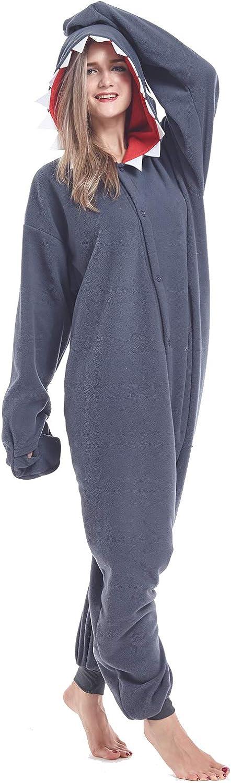 Zinuods Unisex Adult Onesie Pajamas Halloween Animal Cosplay Costumes