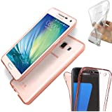 Rose Gold Tinted Clear Full Body 360° Protective Gel Case for Sony Xperia Z5 Premium by Digi Pig®