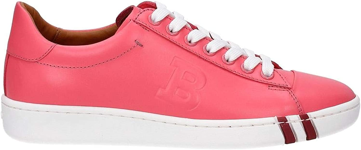 Elección enaguas emitir  Bally Sneakers Women Leather Pink Fluo WIVIAN606205883 Pink 5EUK: Amazon.co. uk: Shoes & Bags