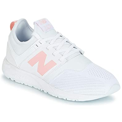 New Balance WRL247 Sneaker Damen Weiss/Rose - 40 - Sneaker Low