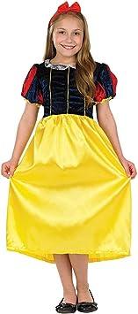 Girl - Disfraz de Blancanieves para niña, talla S (4-6 años) (2991 ...